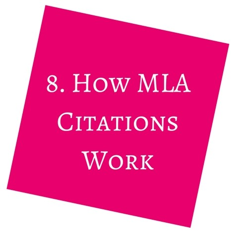 How MLA Citations Work