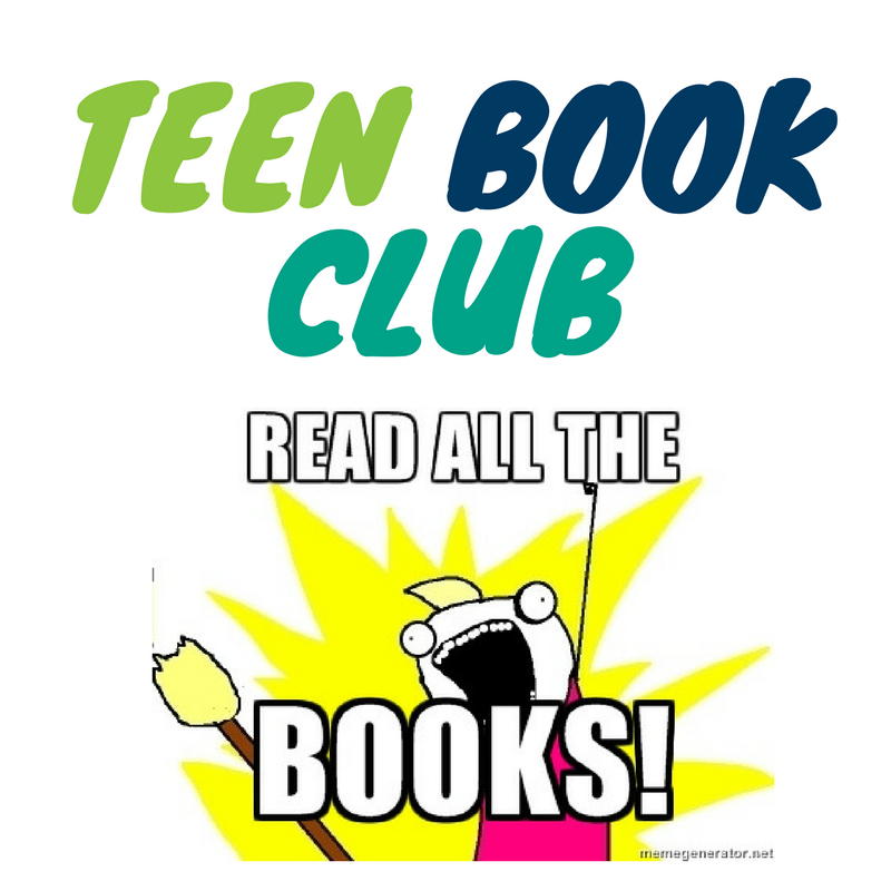 Teen Book Club (ages 12-17)