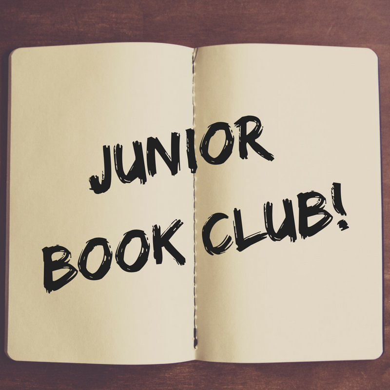 Junior Book Club (ages 8-12)