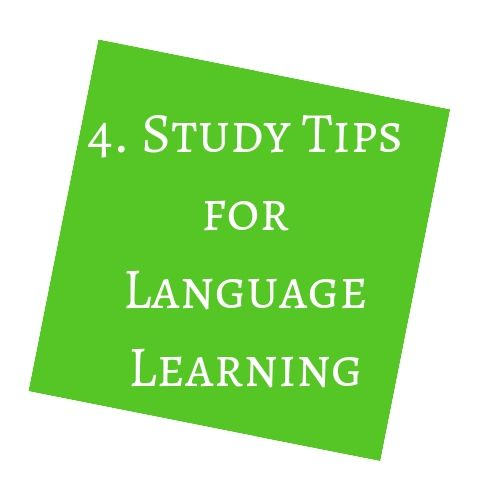 Study Tips for Language Learning