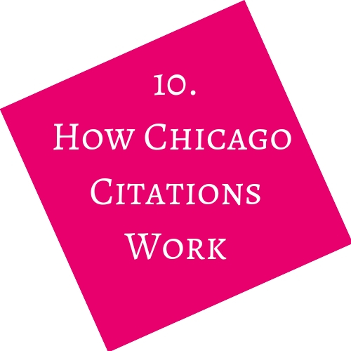 How Chicago Citations Work