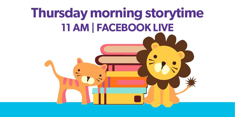 ONLINE Facebook Live Storytime