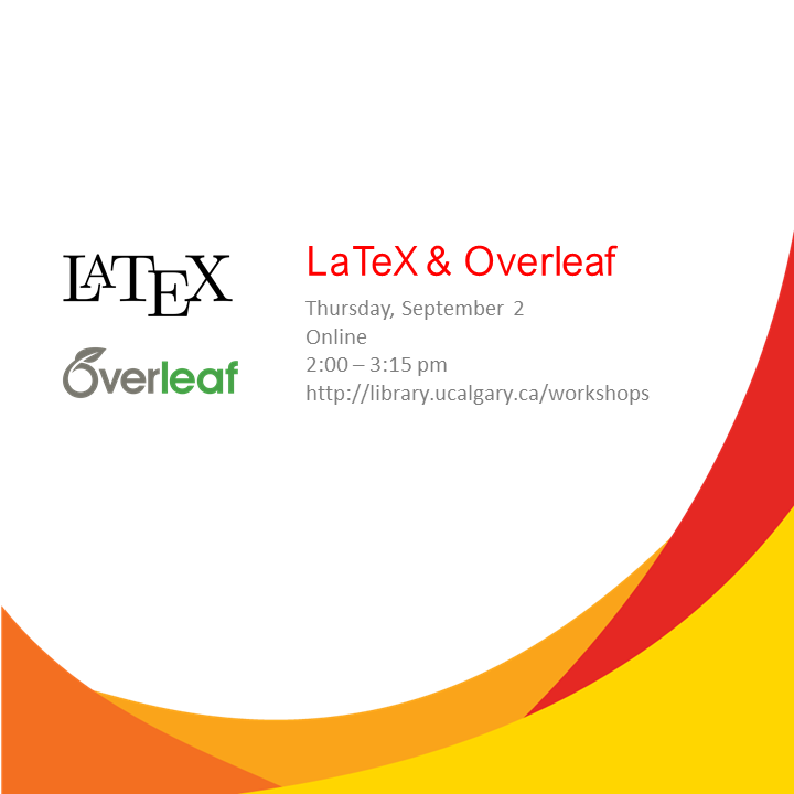 LaTeX and Overleaf (Online)