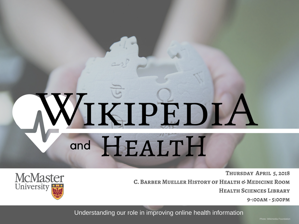 Wikipedia & Health: Improving online health information