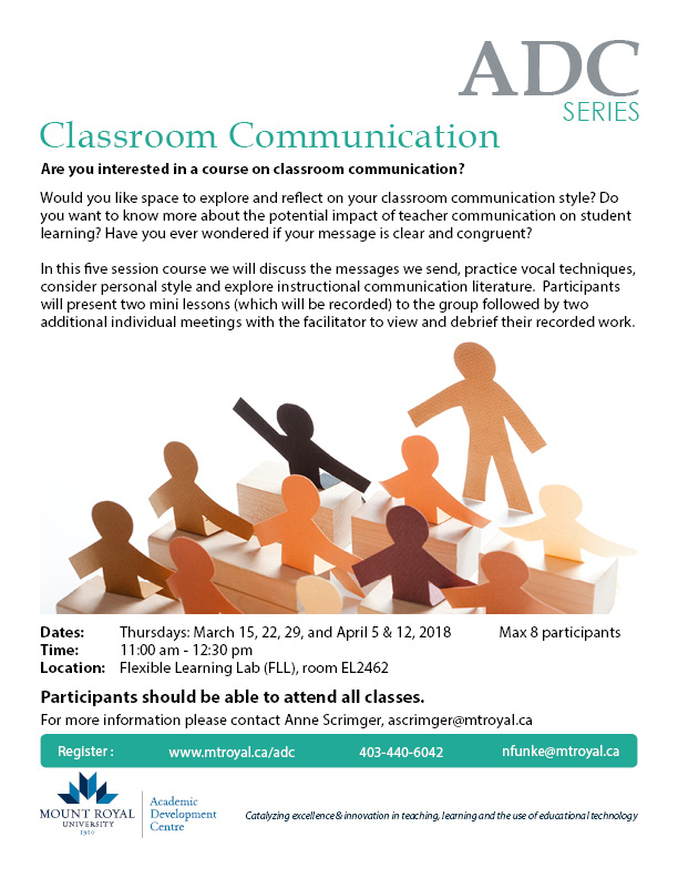 Classroom Communication Series