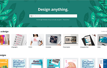 Design & Layout with Canva