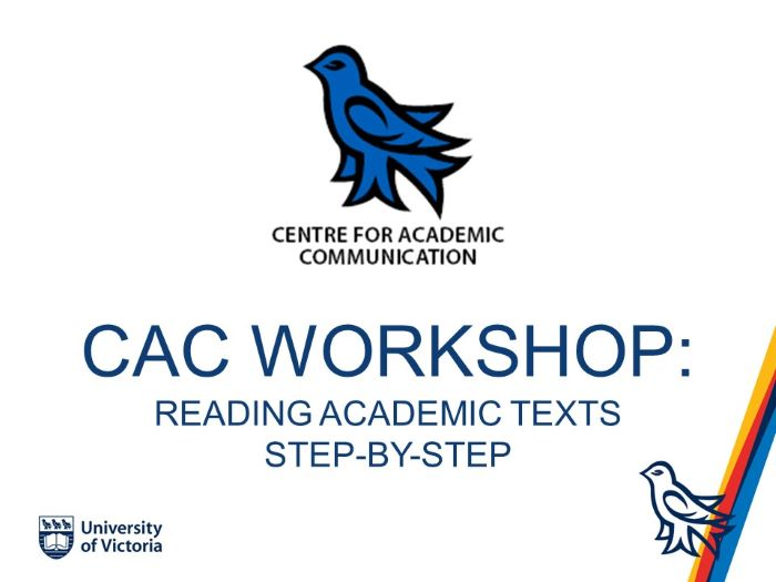 Reading Academic Texts Step-by-Step