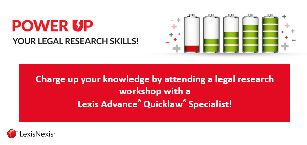 Lexis Advance Quicklaw Training