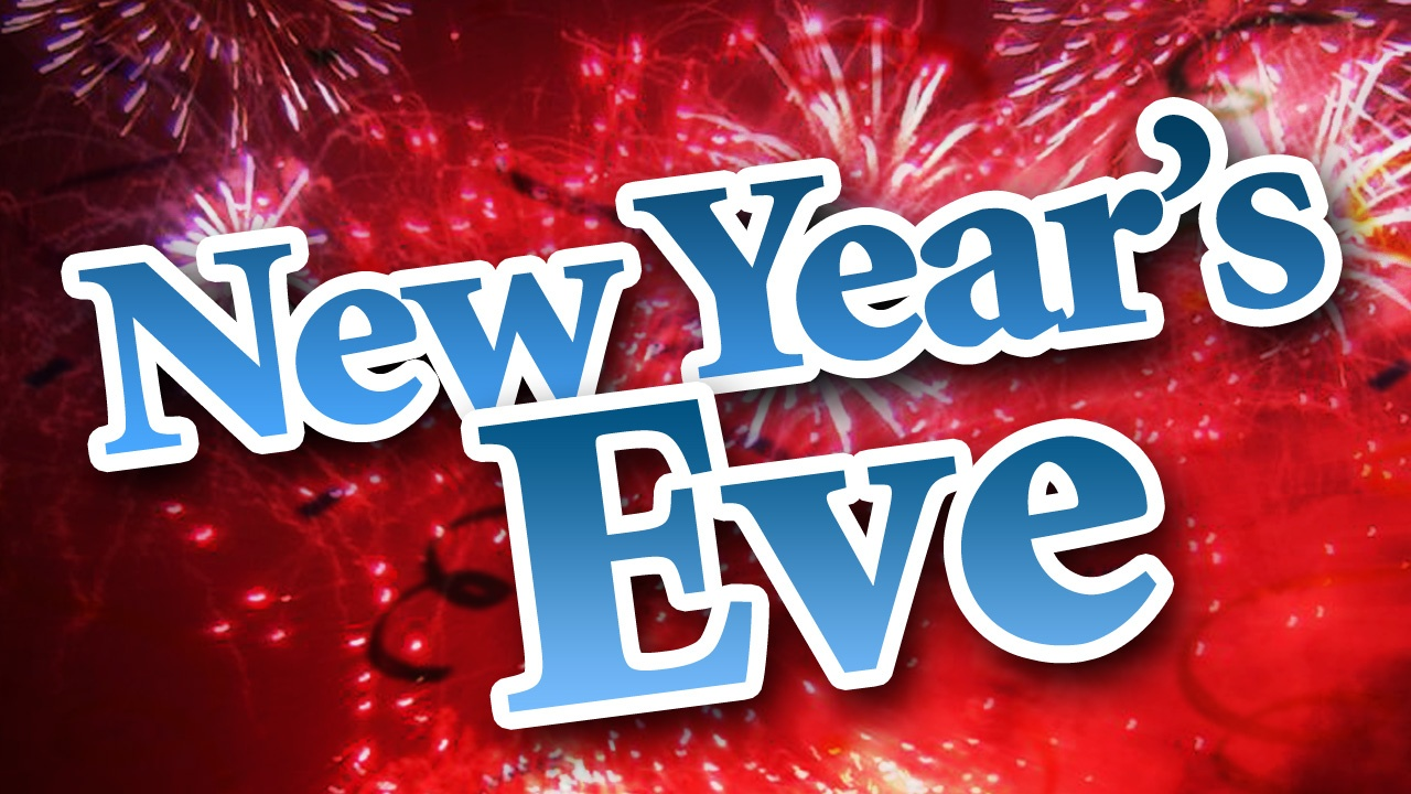 New Year's Eve - Library CLOSES at 2pm
