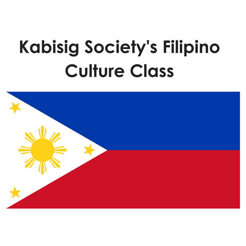 Kabisig Society: Filipino Classes