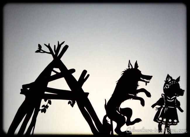 Shadow Puppet Storytime (2+)