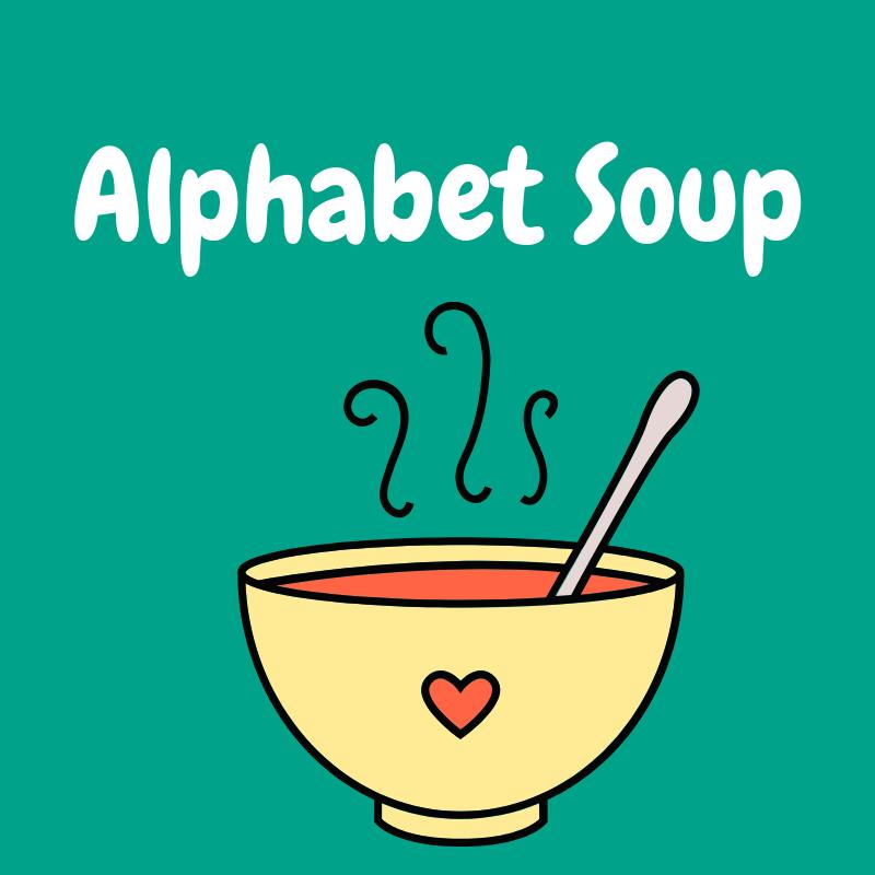 Alphabet Soup (Ages 3-5)