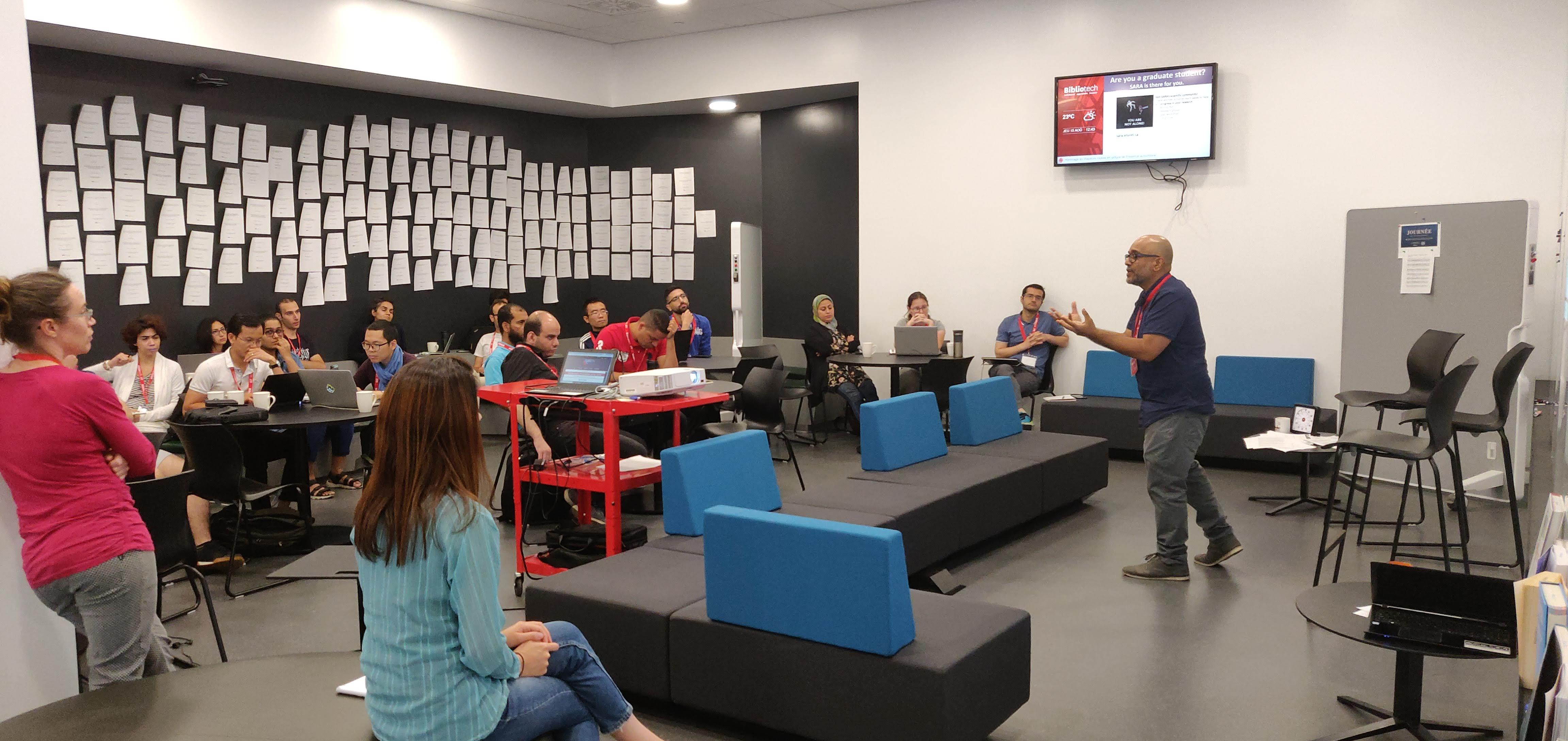 SARA Ateliers éclair | SARA Flash Workshops : Être concis / Be concise