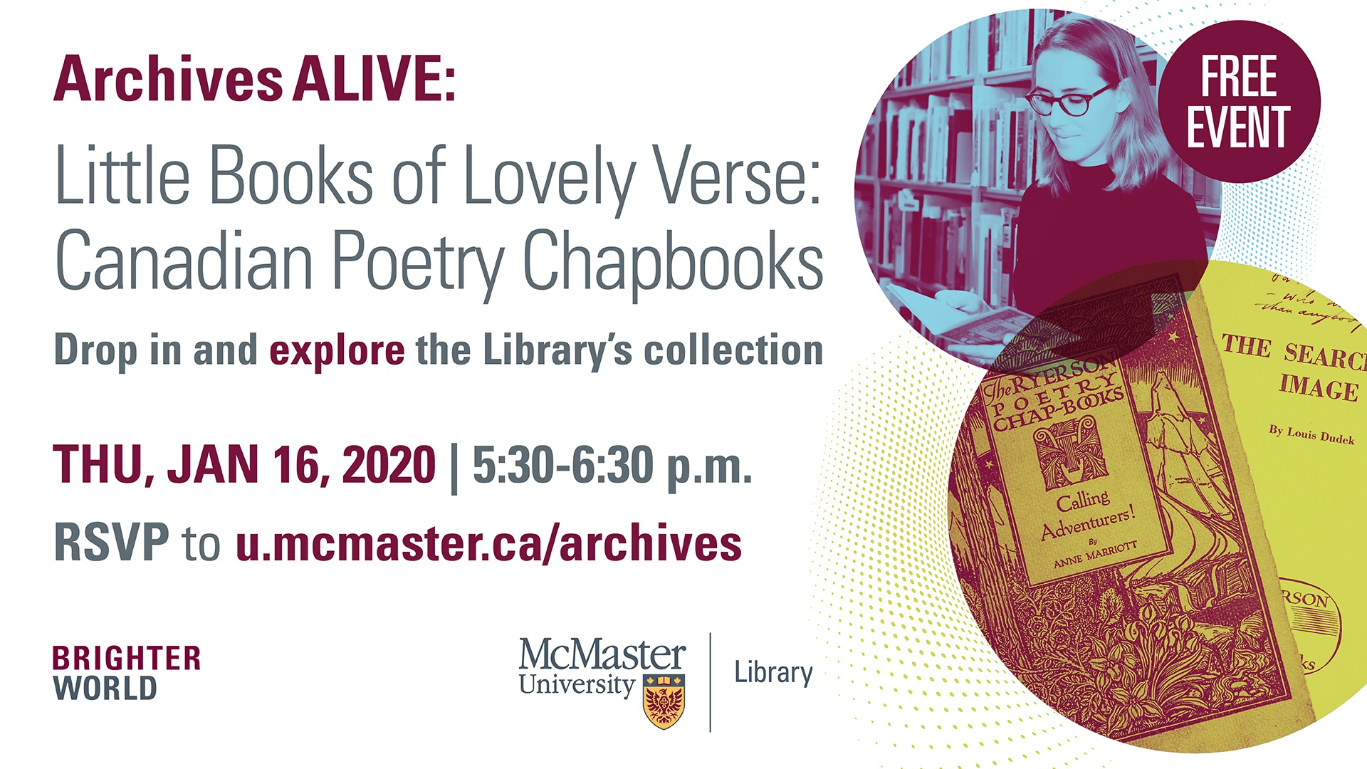 Archives Spotlight: Little Books of Lovely Verse: Canadian Poetry Chapbooks