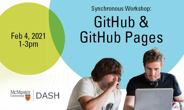 GitHub and GitHub Pages