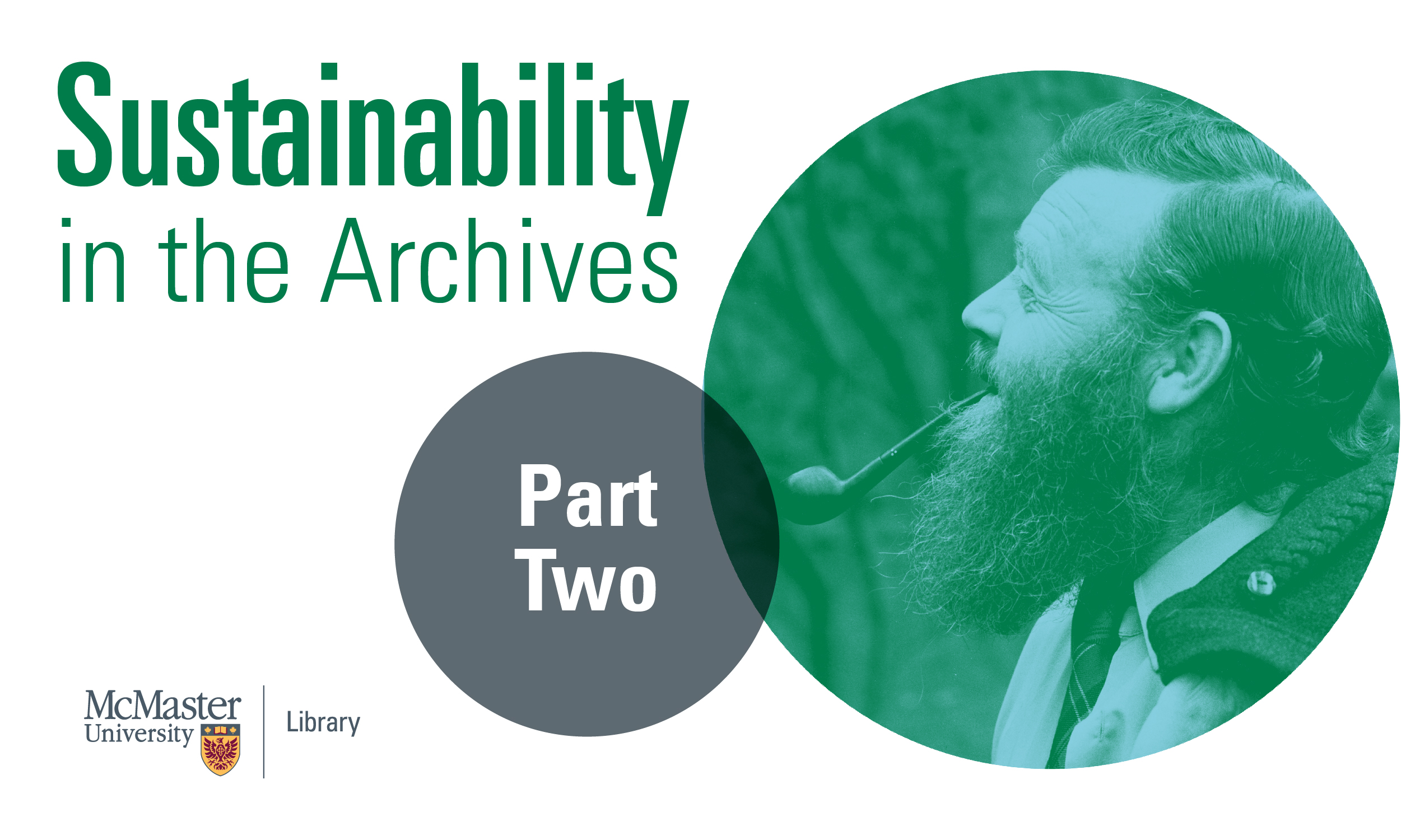 Sustainability in the Archives: Farley Mowat Archives, with Chris Long
