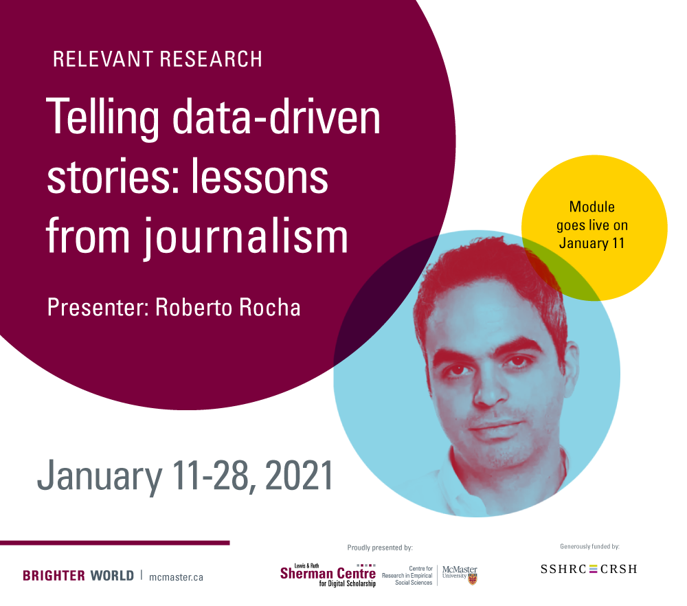 Relevant Research: Telling data-driven stories - Discussion and feedback session