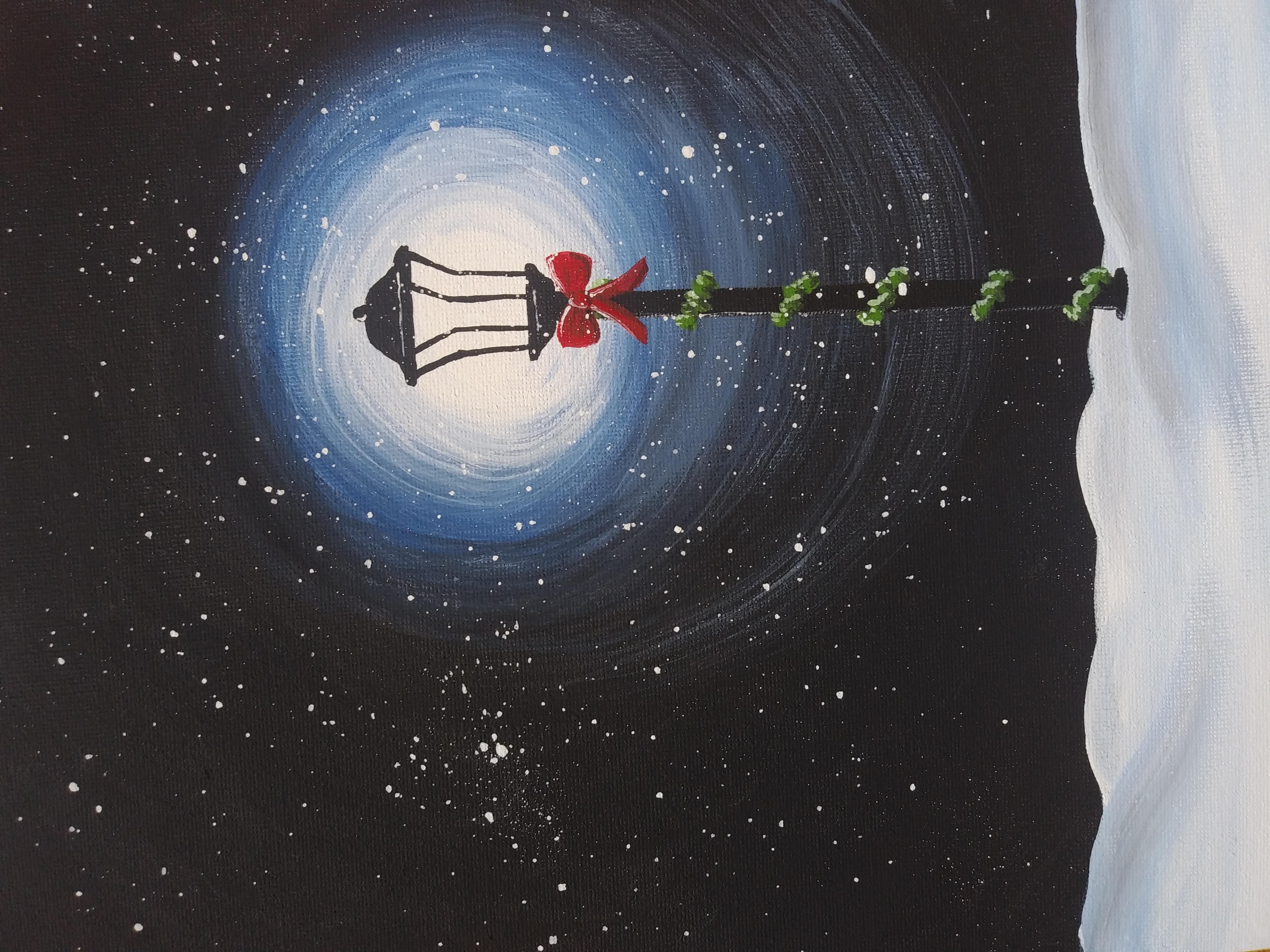 Virtual Paint Class - Holiday Lantern