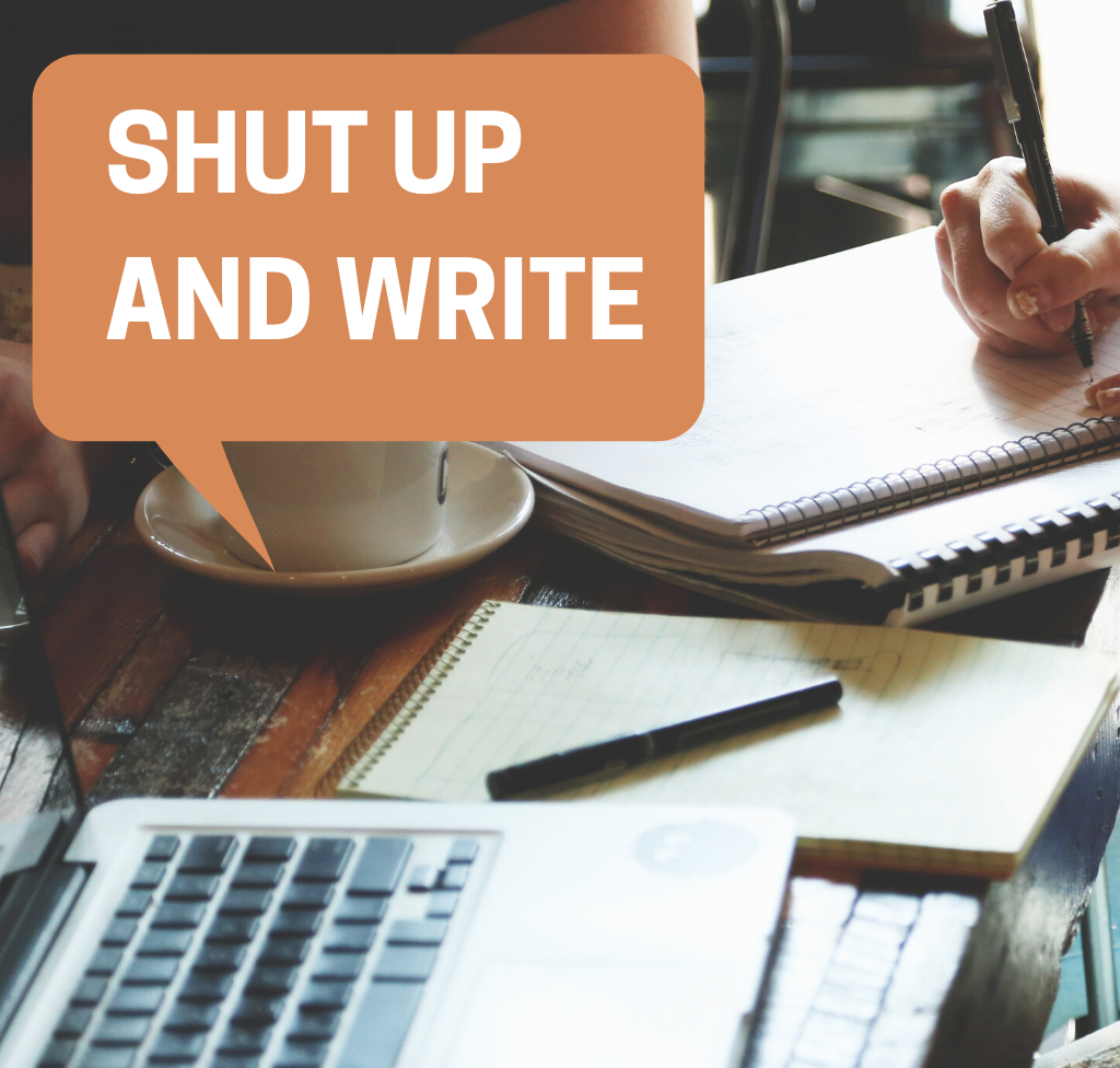 Shut Up and Write (May sessions) - now ONLINE