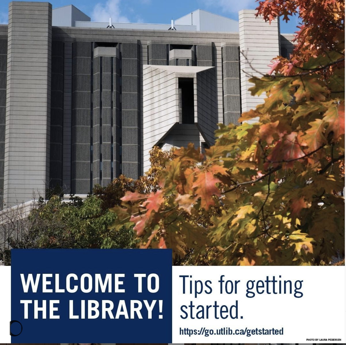 Getting Started at U of T Libraries