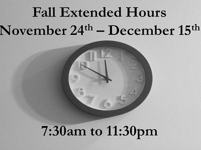 Extended Hours Begin